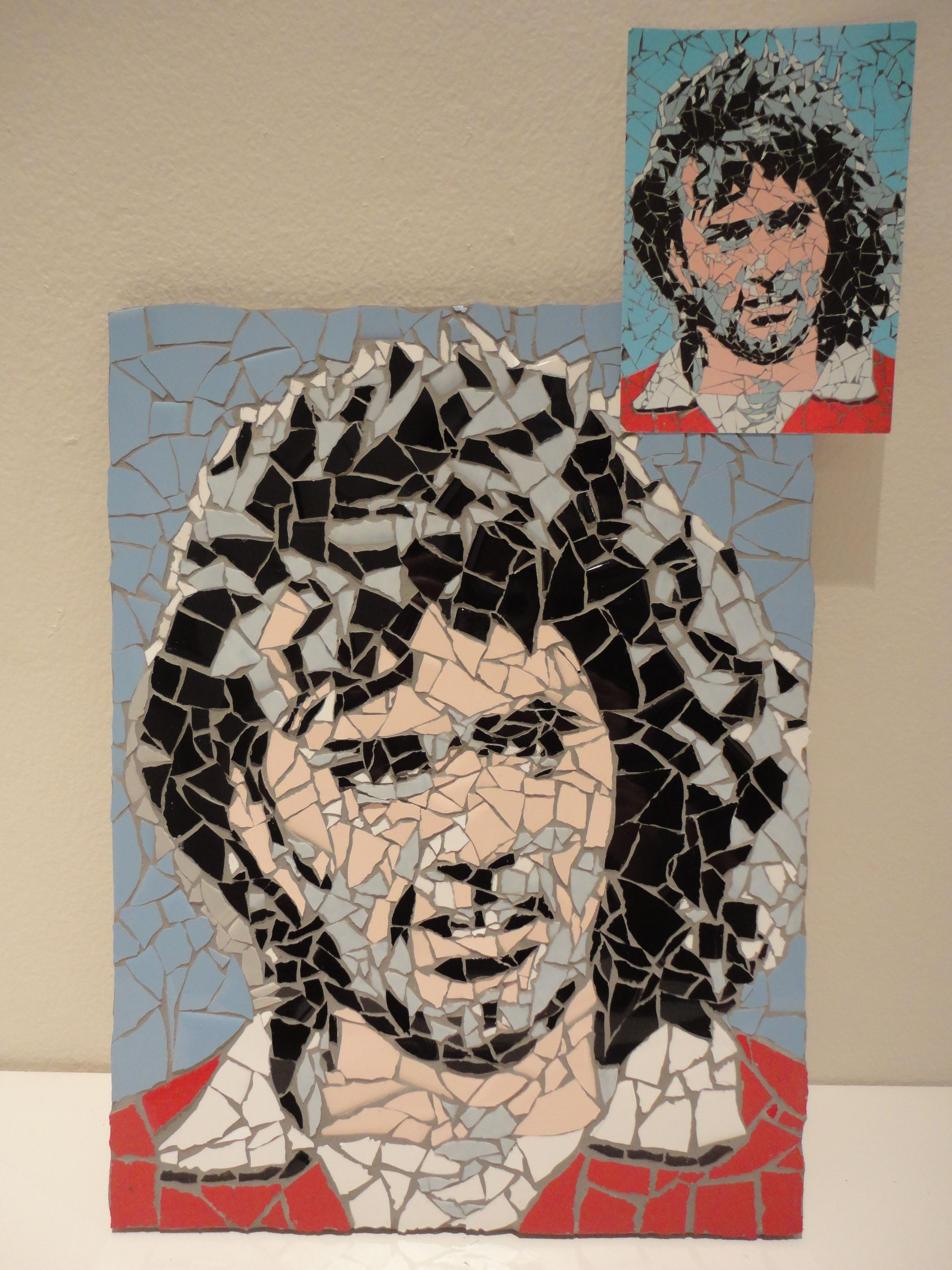 One of my more recent commissioned pieces - George Best the football legend