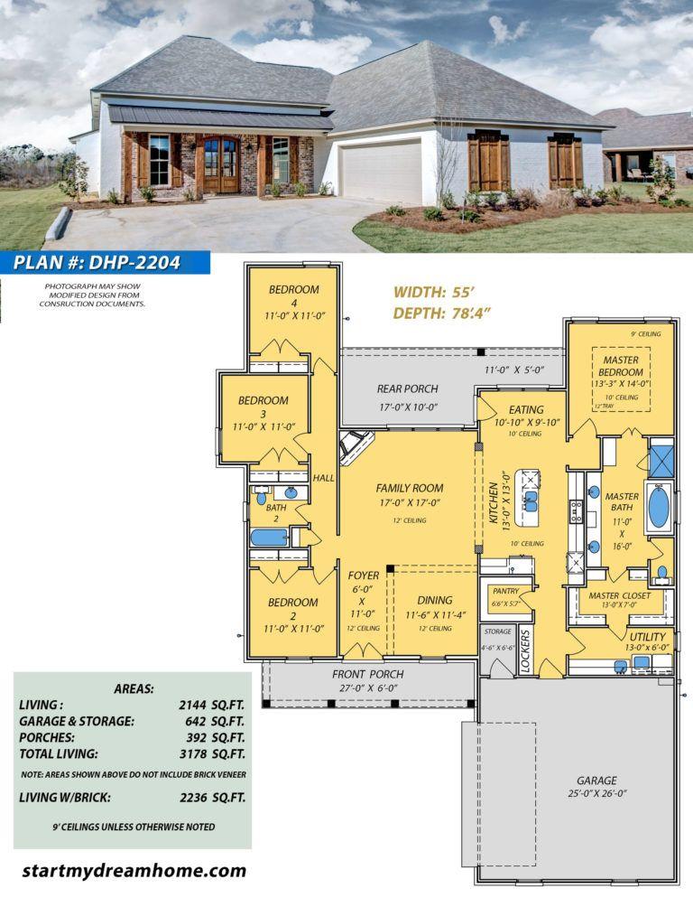 Dream Home Plan 2204 Start My Dream Home House Plans Dream House Plans Dream House