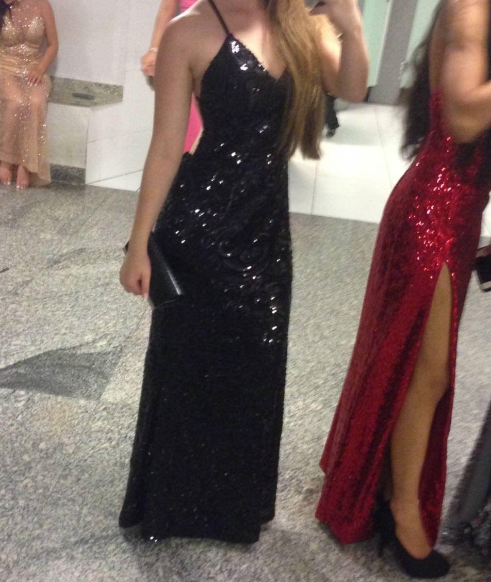 V neck sequin prom dress with split prom pinterest sequin prom