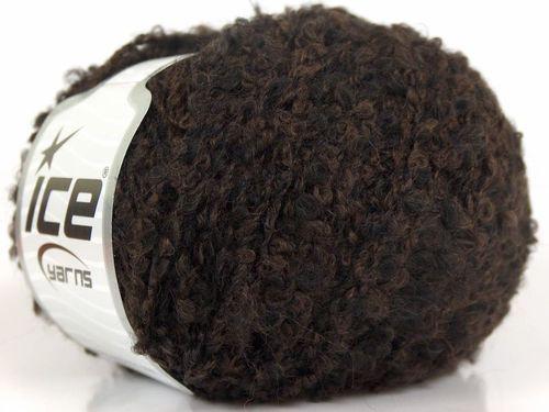 Lot of 8 Skeins ICE FIGARO BOUCLE (36% Merino 13% Kid Mohair) Yarn Brown Black | eBay
