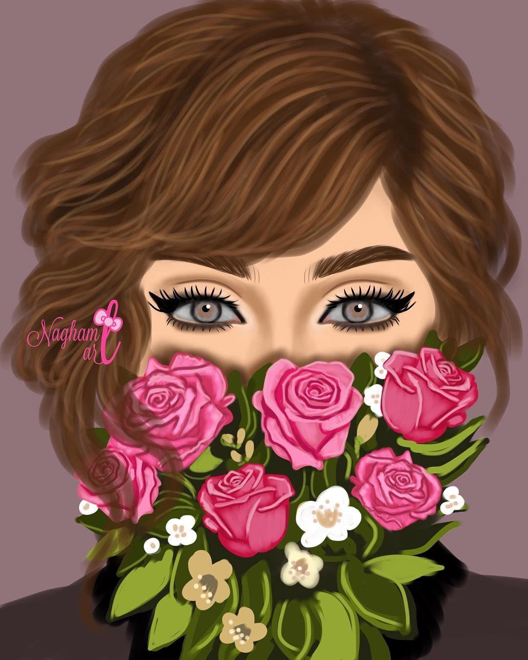 خلفيات بنات كرتونيه رمزيات كرتون للبنات Girly Drawings Girly M Sarra Art
