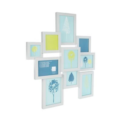 Ben de Lisi Home Designer white wooded multiple photo frame- at ...