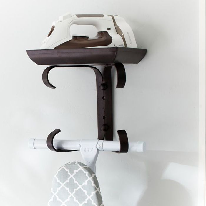 10 Great Storage Ideas From Ikea And More Ironing Board Hanger