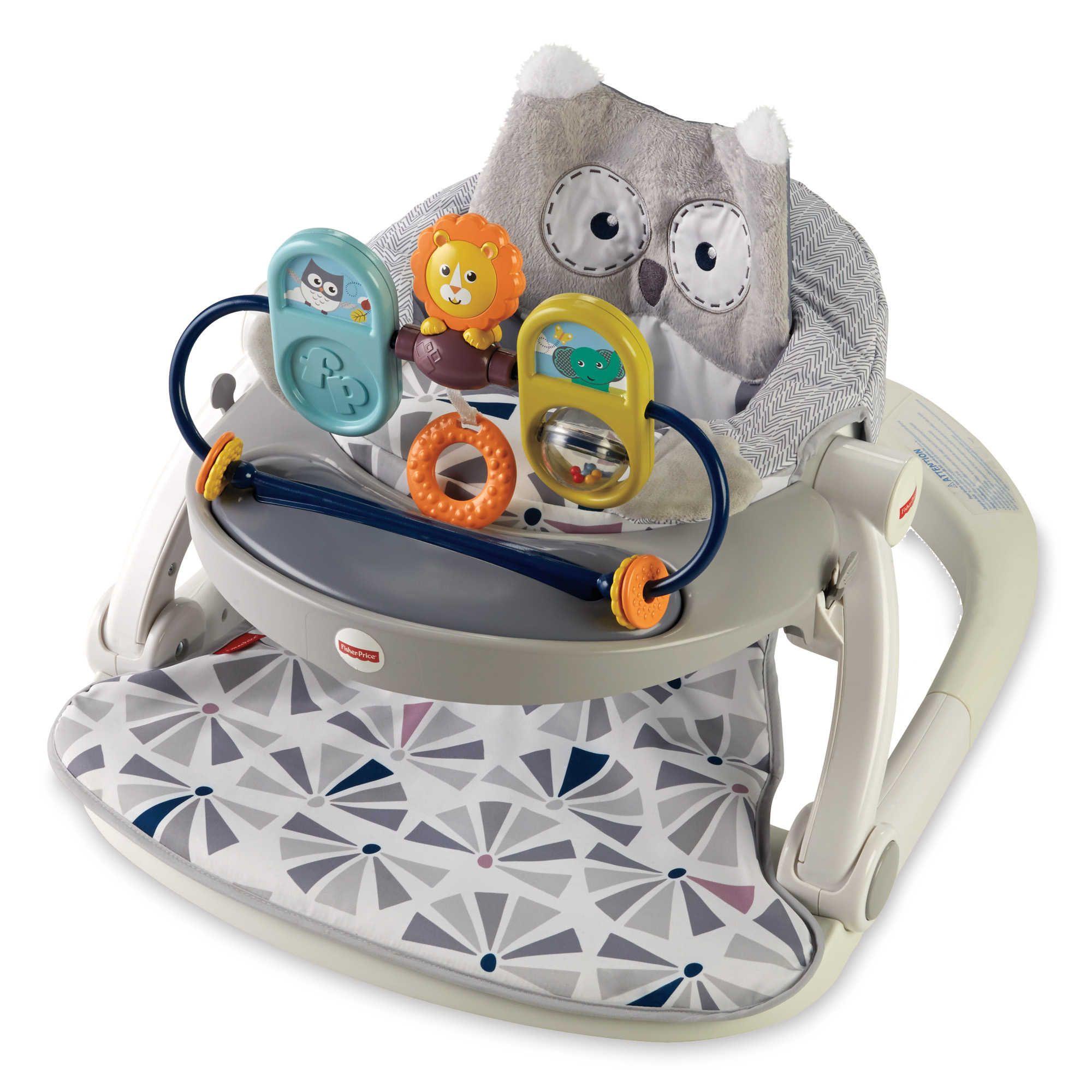 FisherPrice® Owl SitMeUp Floor Seat Floor seating