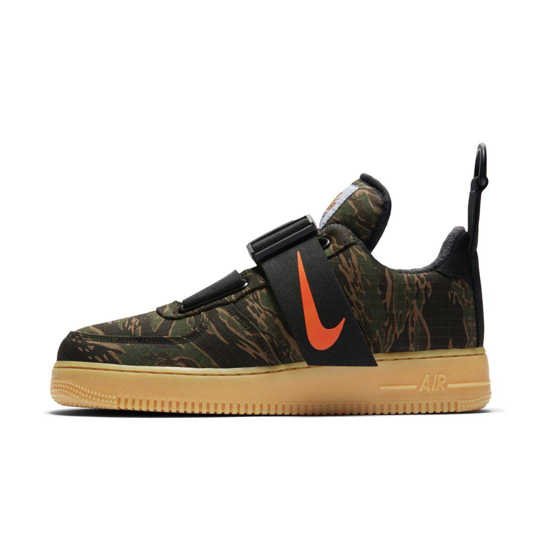 online store 5b515 b4895 Nike Air Force 1 Utility Low Premium WIP Men s Shoe Size 10.5 (Camo Green)