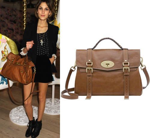 Mulberry Names Latest Bag After Alexa Chung  0c5719fc5192d