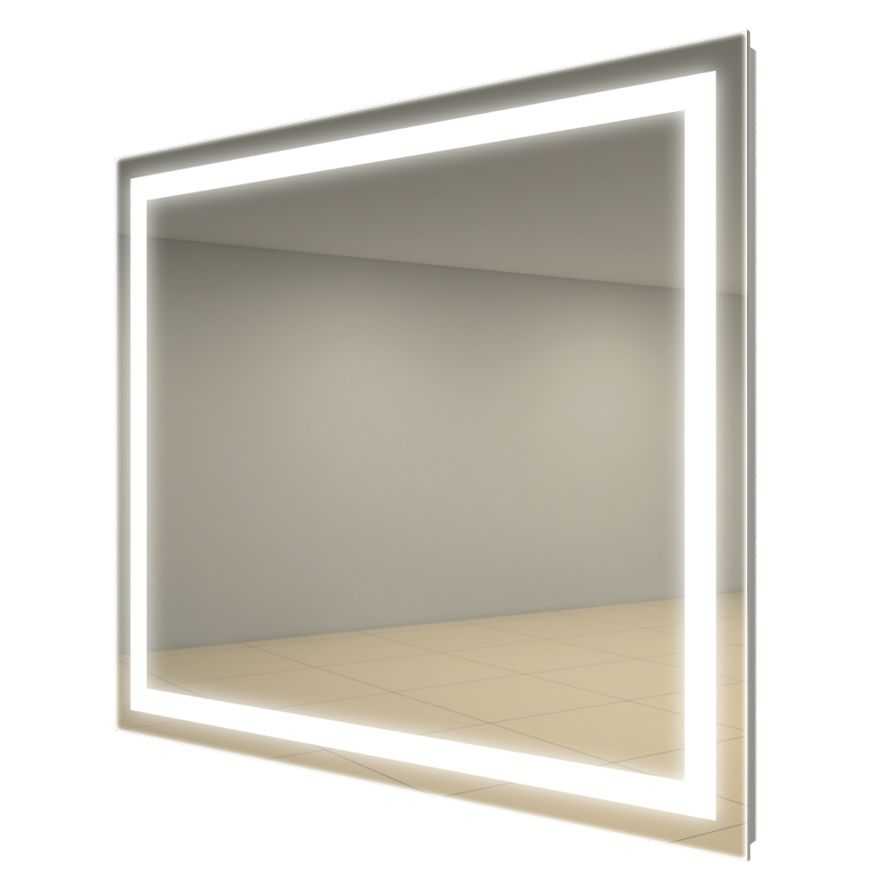 The Integrity Square Lighted Mirror By Electric Mirror