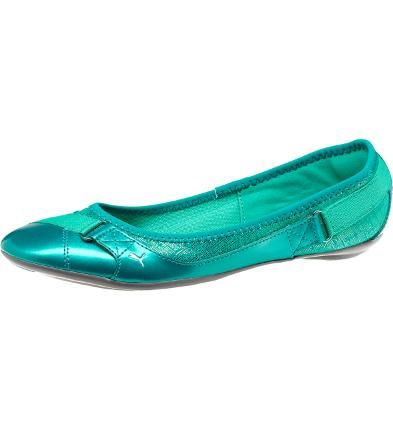 Bixley City Women's Ballet Flats: Sneaker-comfy and supercute, the Bixley is just another example of how absolutely our designers just totally get ballerina flats. Shimmery accents and strap details at the toe and heel make sure you don