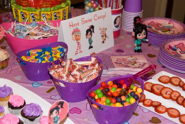 Wreck It Ralph Sugar Rush Birthday Party Ideas With Images