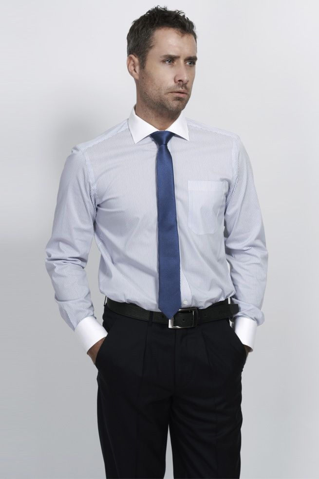White Collared Shirt Men Photo Album - Fashion Trends and Models