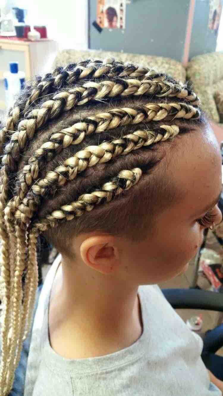 15++ Feed in braids with undercut ideas