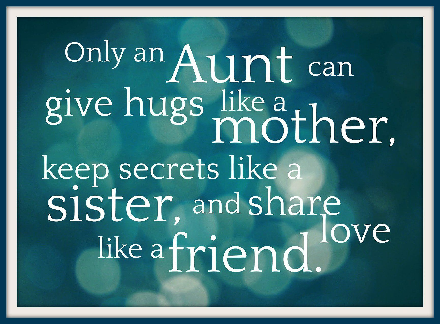 What to give to my aunt 71