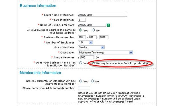 How To Fill Out A Business Credit Card Application  Credit Card