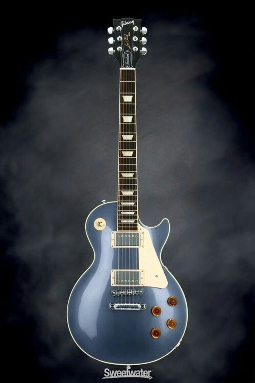 Gibson Les Paul Standard 2016, Traditional - Blue Mist, Chrome Hardware