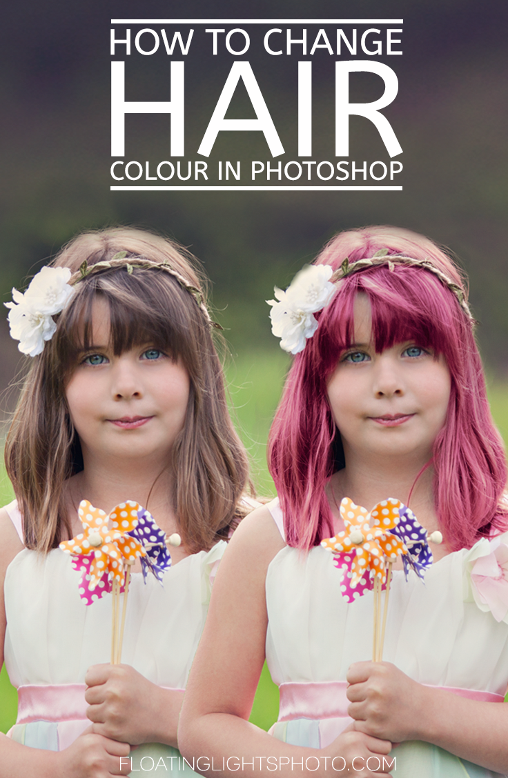 How To Change Hair Colour In Photoshop Free Quick Photoshop Video Tutorials Color Photoshop Change Hair Color Change Hair
