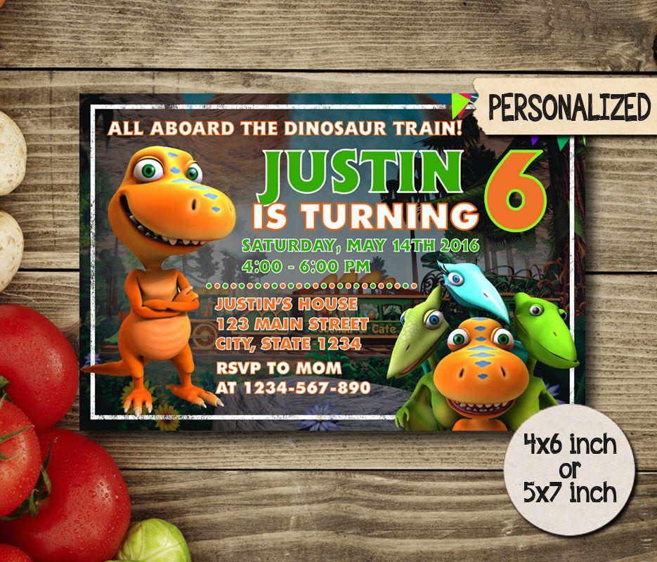 dinosaur train invitation,dinosaur train birthday,dinosaur train, Birthday invitations