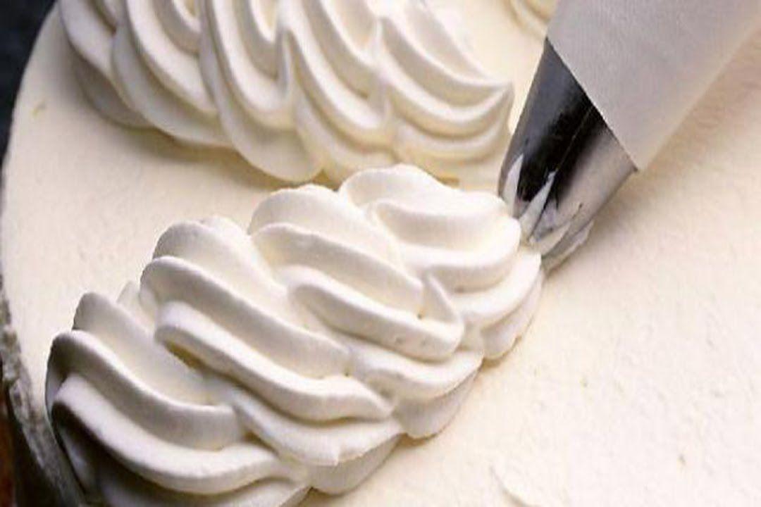 طريقة عمل كريمة تزيين و تغليف الكيك How To Make Cream Butter Cream Cream