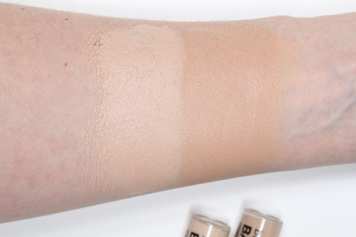 bareMinerals bareskin concealer fair medium swatch