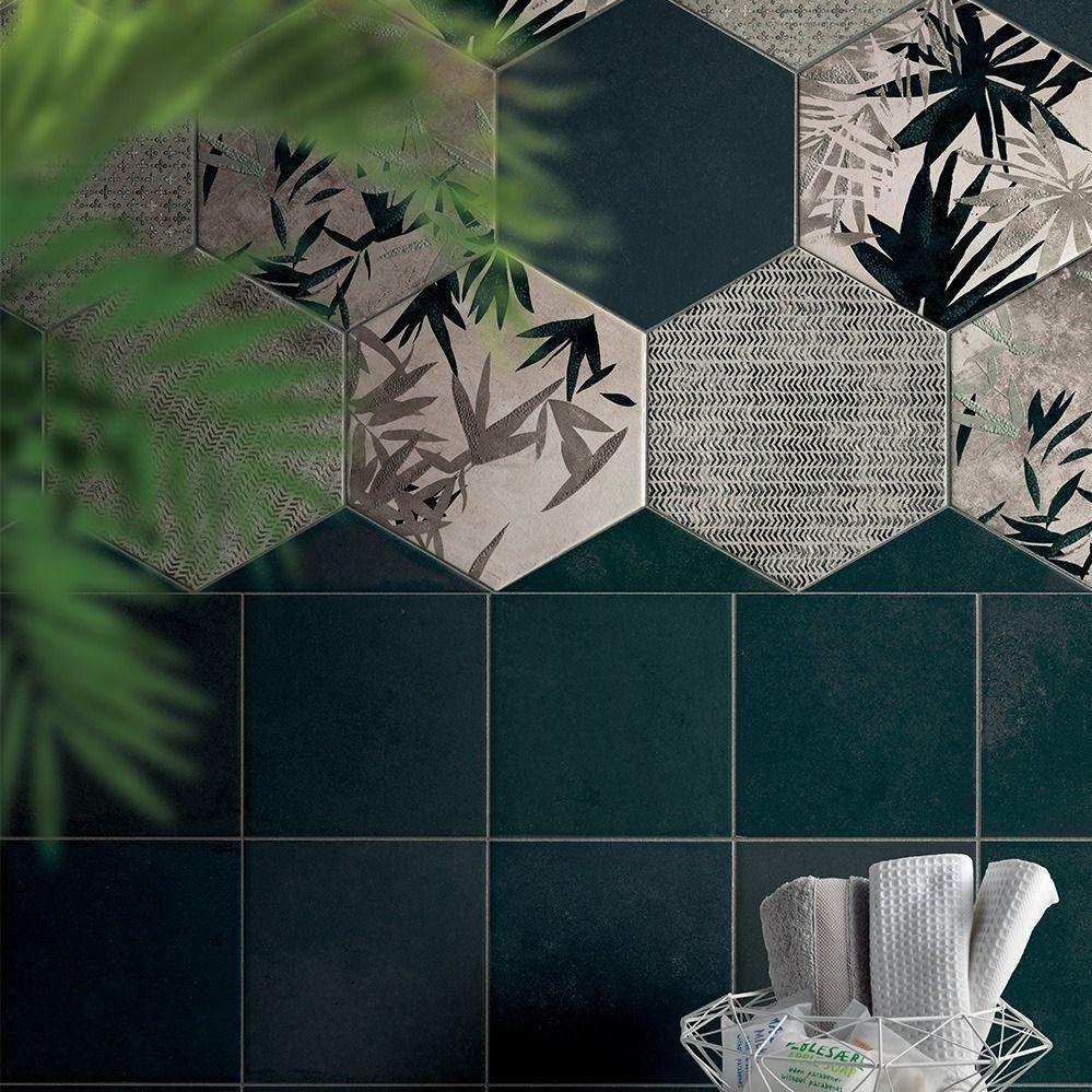 Deco Imitation Carreaux De Ciment carrelage hexagonal imitation carreaux de ciment 24x27,7