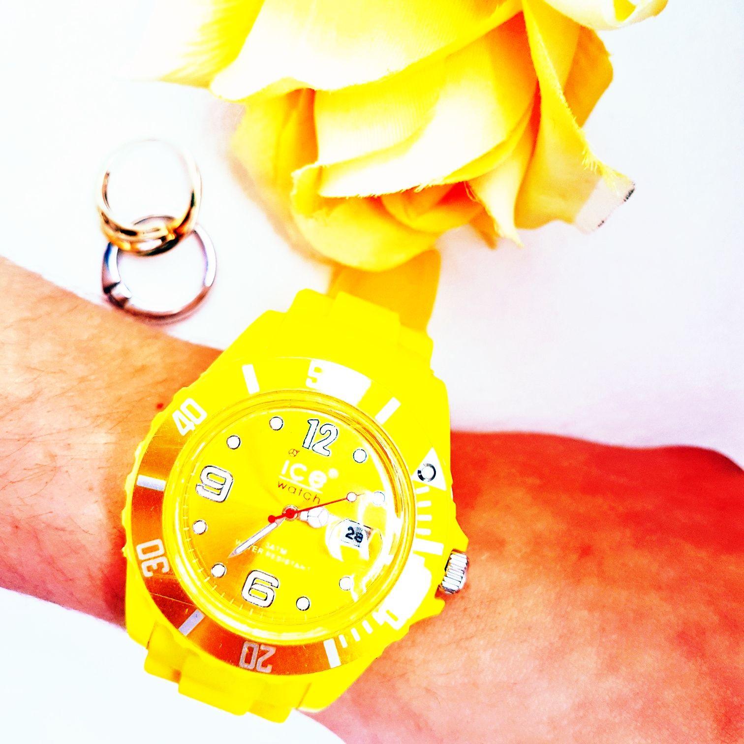 Ice watch Armbanduhr in gelb