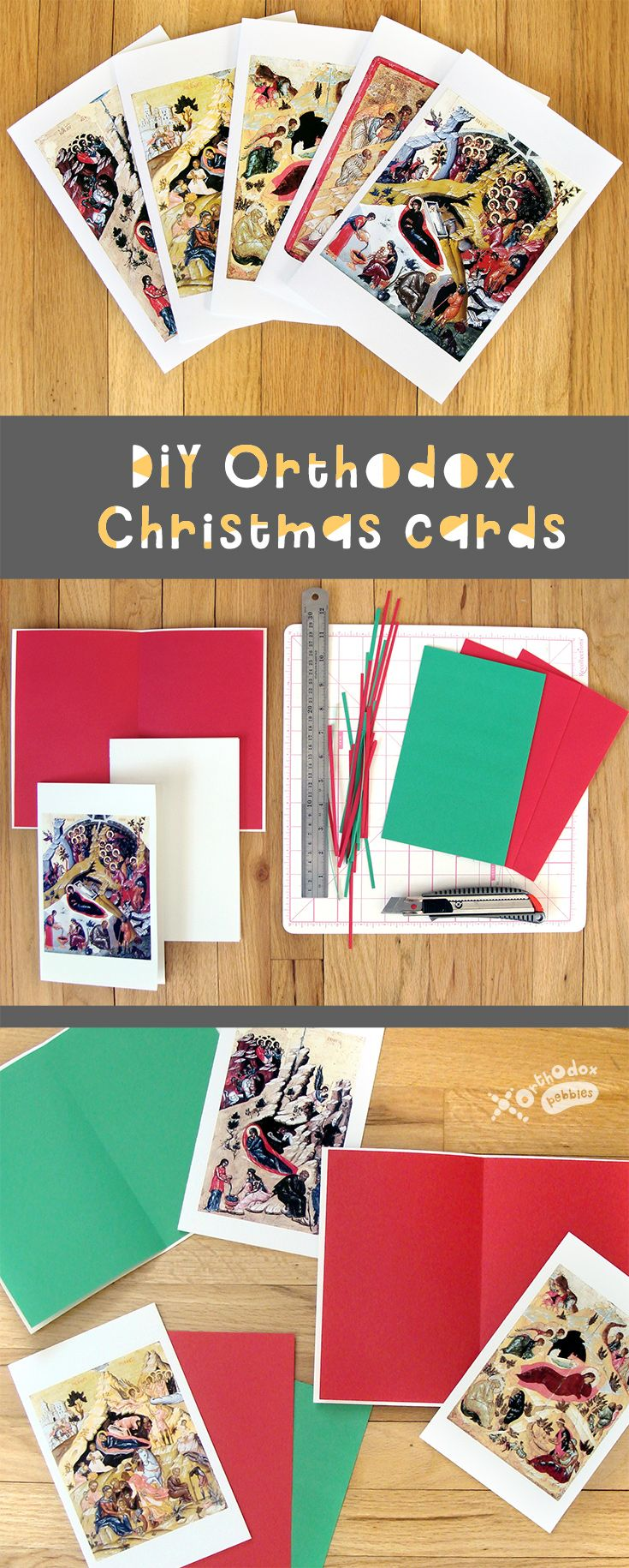 Use Our Free Printables To Make Beautiful Orthodox Christmas Cards