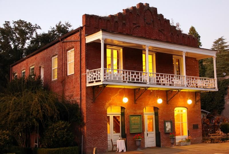 Imperial Hotel In Amador City Imperial Hotel Haunted Hotel California Hotel