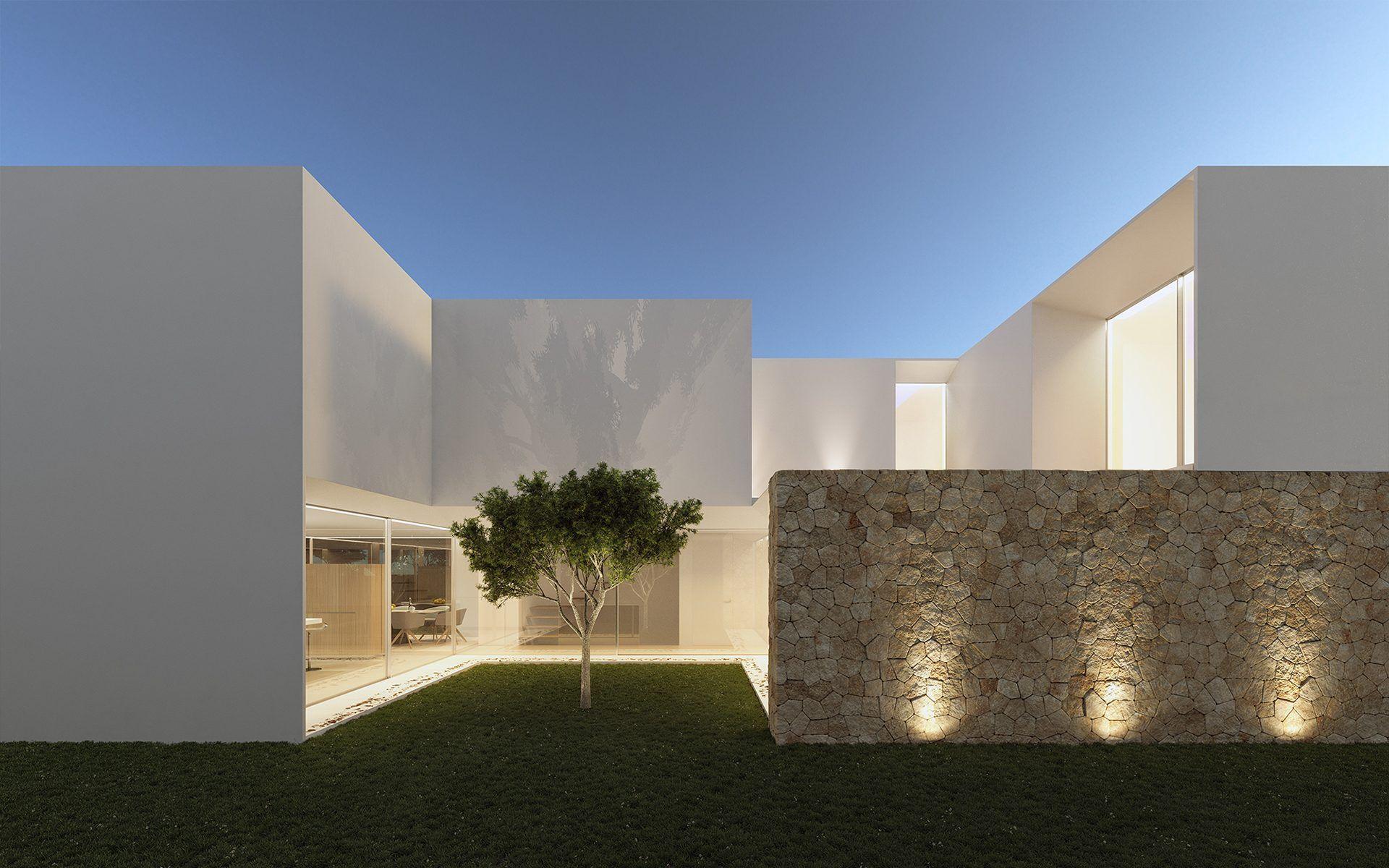 Gallardo llopis arquitectos grt vivienda en santa gertrudis ibiza arq exteriours casas - Arquitectos en ibiza ...
