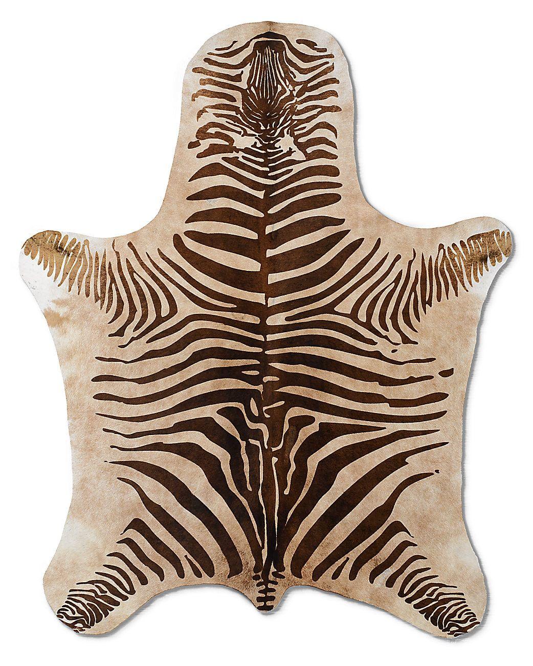 Argentine Zebra Hide Zebra Cowhide Rug Zebra Cowhide Cow Hide Rug