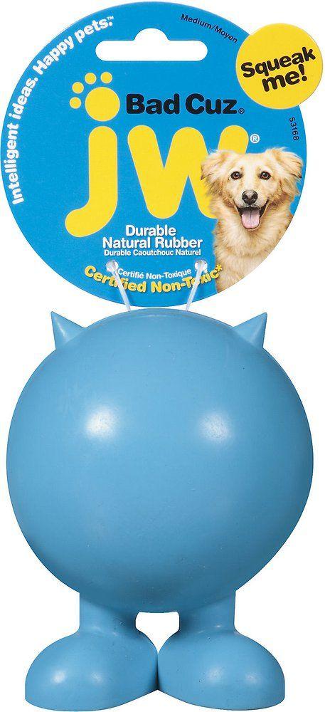Jw Pet Bad Cuz Dog Toy Medium Jw Pet Pet Companies Dog Toys