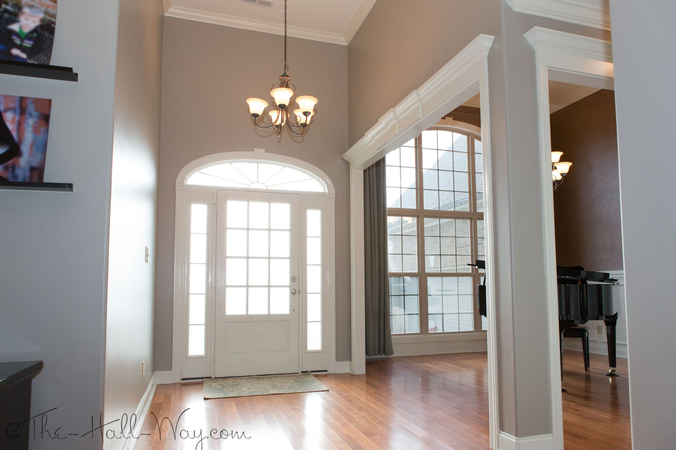 Foyer stone lion sherwin williams paint paint colors - Sherwin williams loggia exterior ...