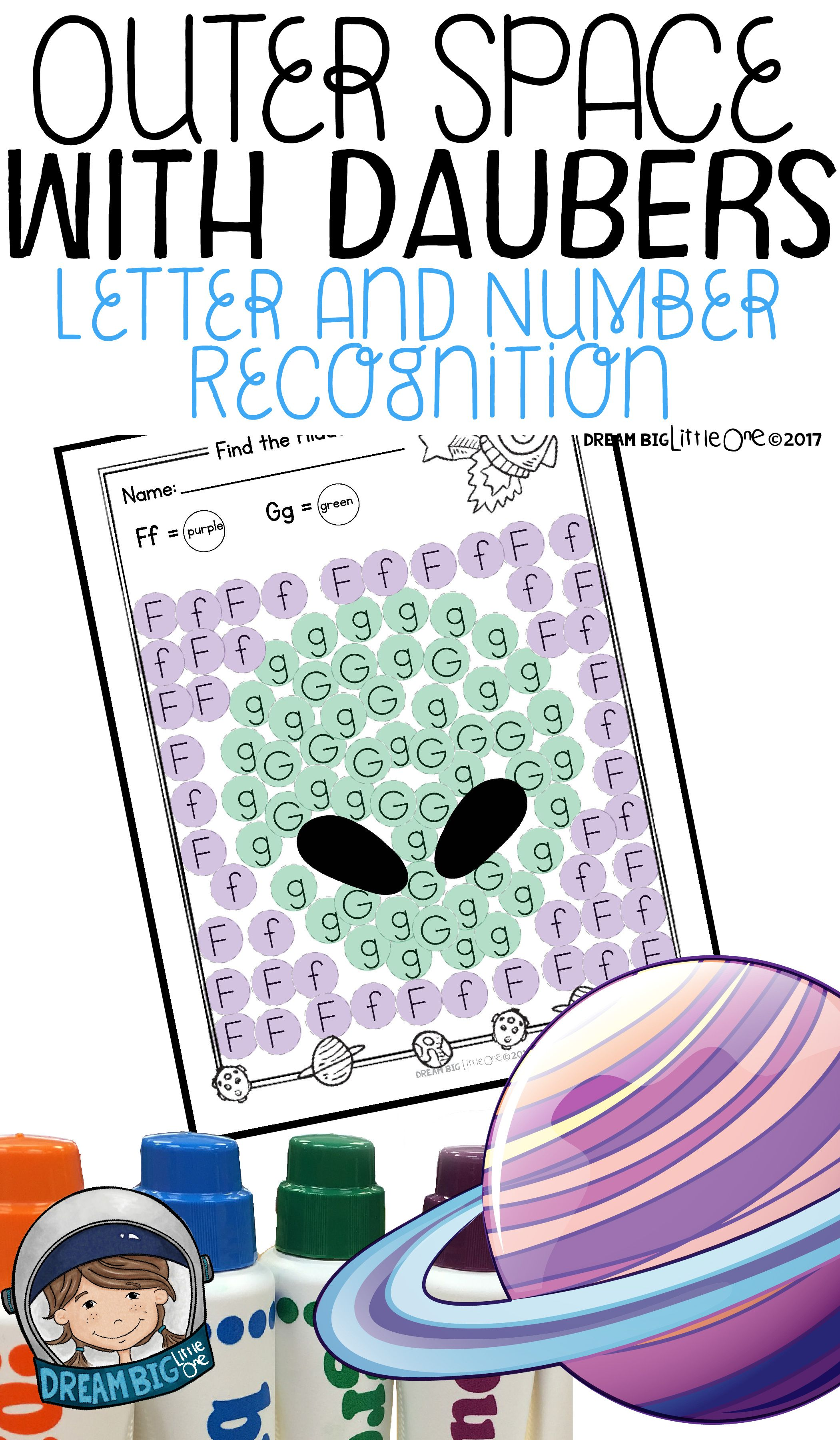 Letter And Number Recognition Hidden Pictures Activity