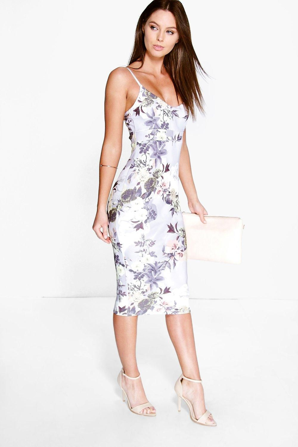 Click here to find out about the Coreline Floral Midi Dress from Boohoo 53f68016bf8