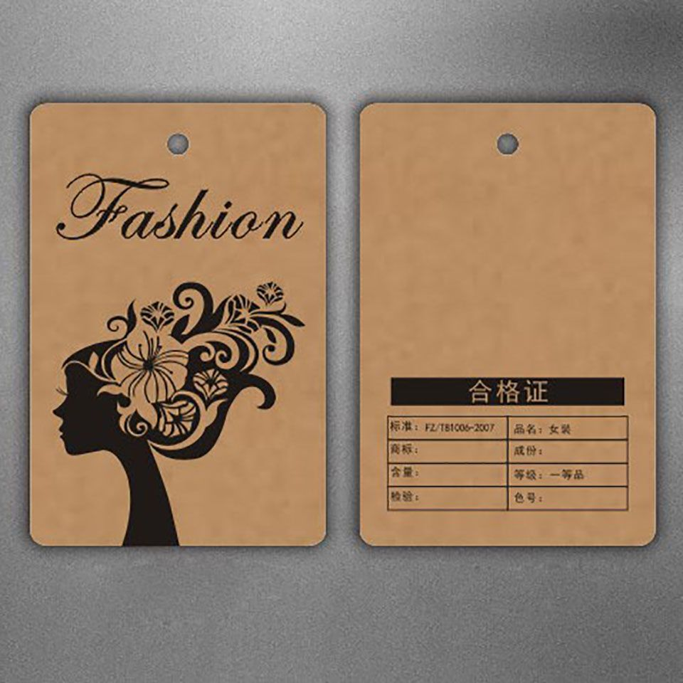 Find more garment tags information about customized shape logo find more garment tags information about customized shape logo brand name printing kraft paper hang tag sciox Choice Image