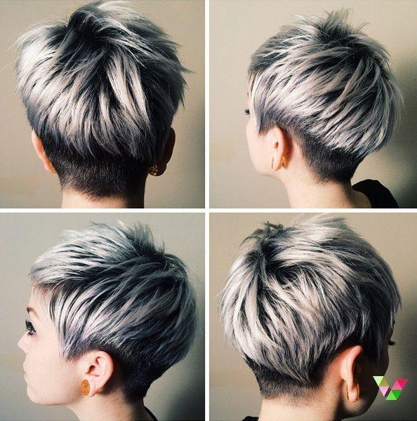 22 Kurzhaarfrisuren mit modernen hellen Farben | Haare ...