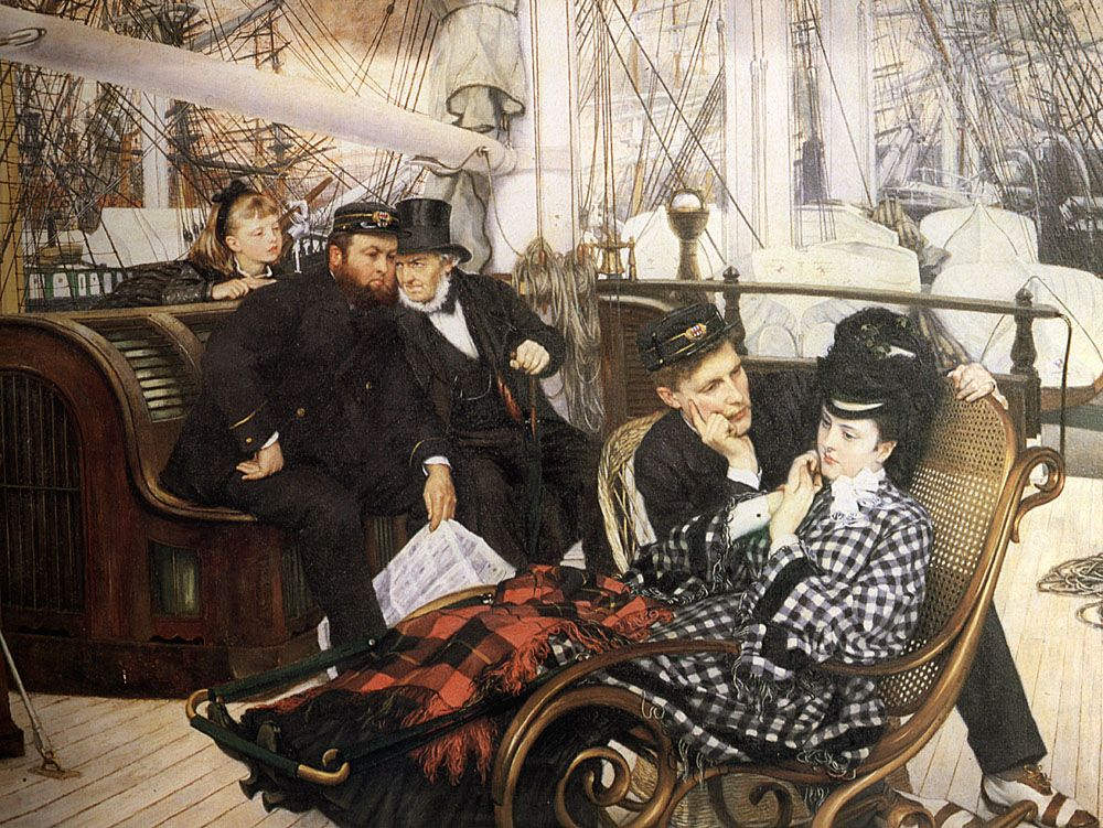 THE LAST EVENING, BY JAMES TISSOT