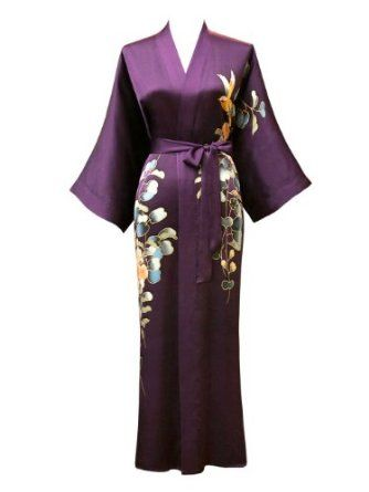 6f9e5ee54d Miranda Kerr has her lovely vintage dior dressing gown