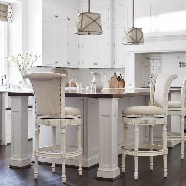 Chapman Swivel Bar Counter Stool Frontgate Bar Stools Bar Stools Kitchen Island Counter Stools
