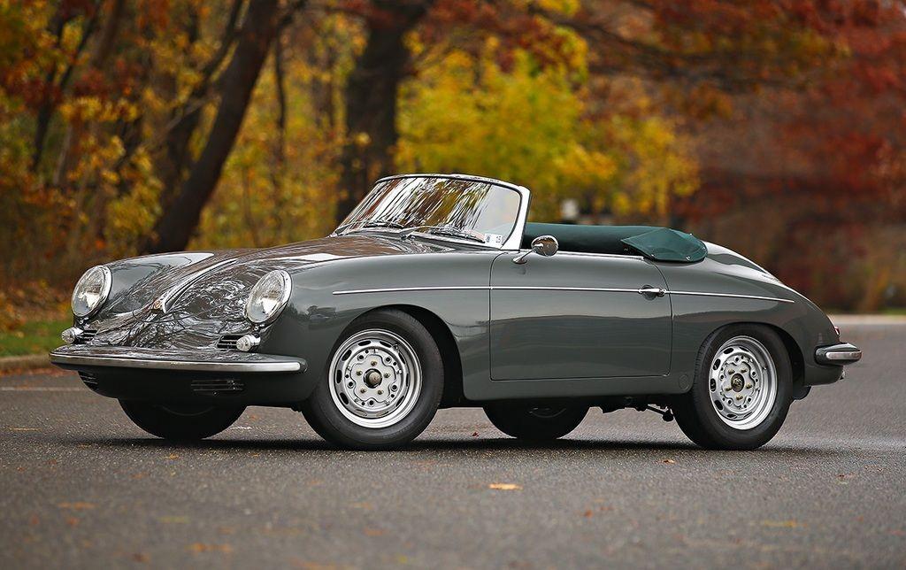 1960 Porsche 356B/1600 T5 Roadster