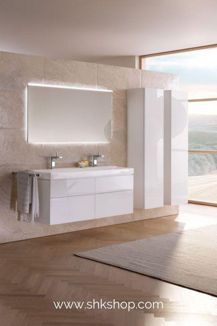 Keramag Xeno 2 Waschtischunterschrank 807220 1174x530x462mm, Wei�, Lack Hochglanz