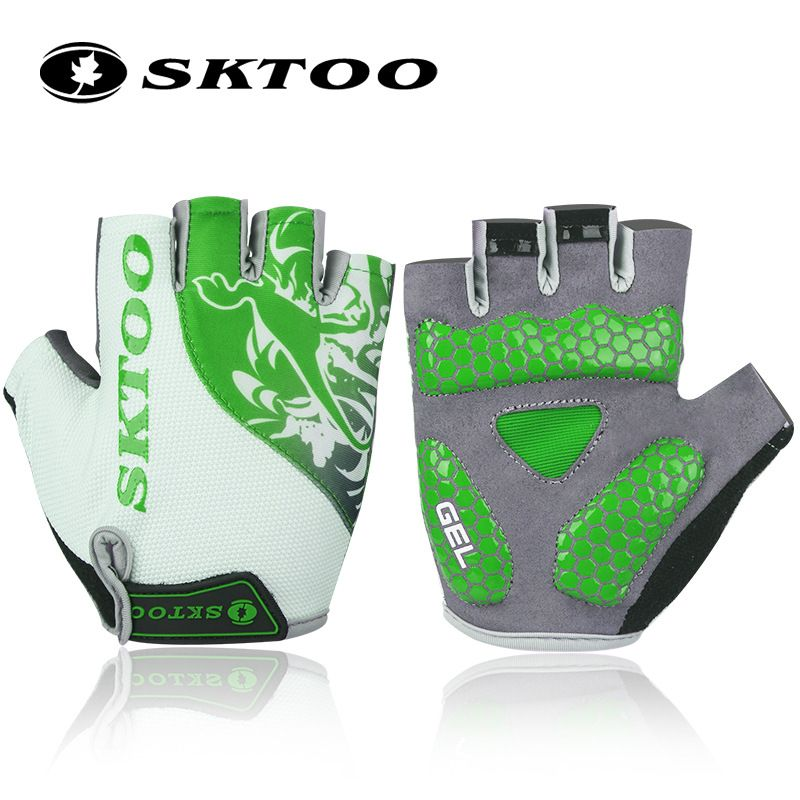 2016 Sktoo Summer Mtb Bicycle Cycling Gloves Half Finger Bike