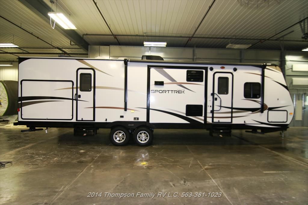 New 2015 Venture Rv Sport Trek St320Vik $27K Outdoor Kitchen Brilliant Travel Trailer With Outdoor Kitchen Design Ideas