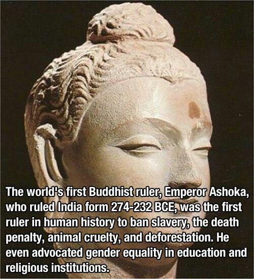 1st Buddhist ruler
