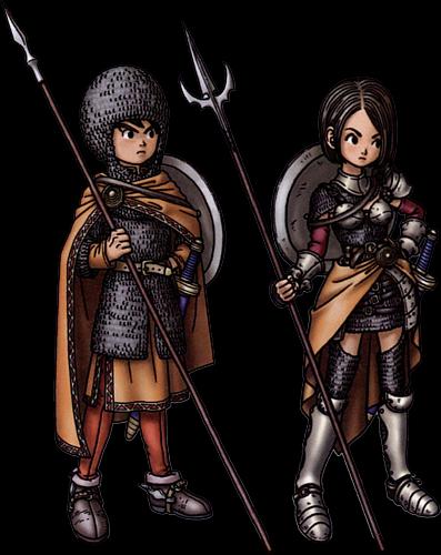 Dragon S Den Dragon Quest Ix Ds Vocations Dragon Quest Dragon Anime Character Design