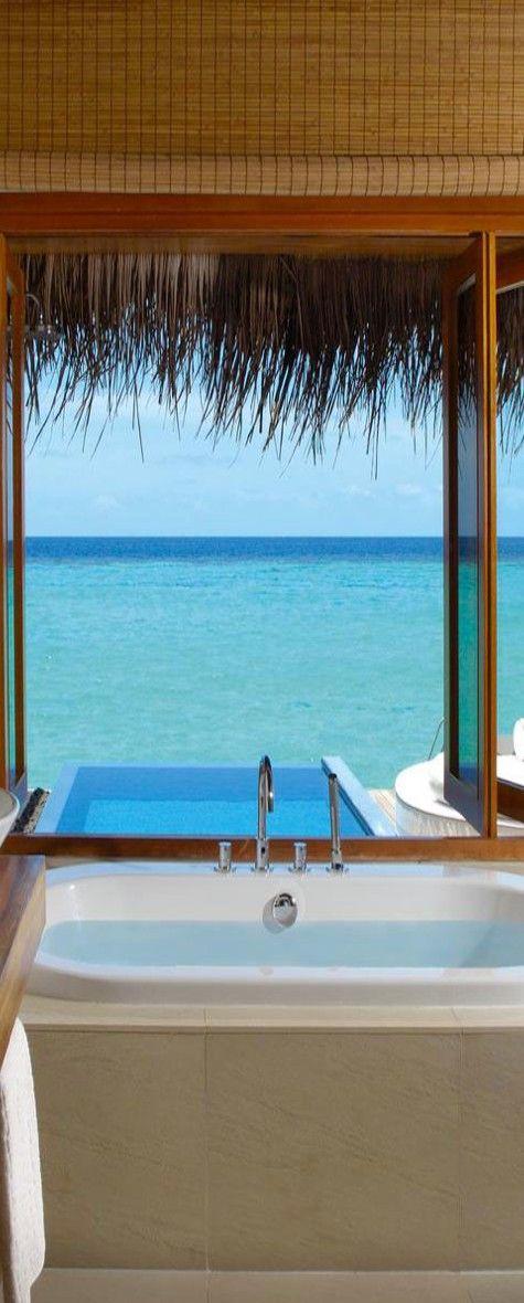 W Retreat Spa In The Maldives Aspen Creek Travel Karen Aspencreektravel Com Beautiful Pools Places Around The World Dream Vacations
