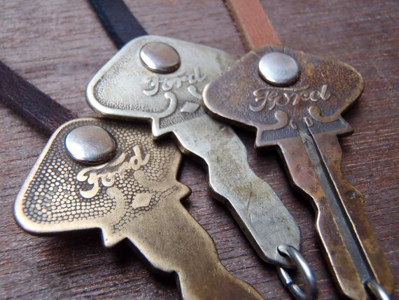 Antique Key Bracelet Ford Motor Company Model A By Goatandkettle