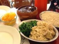 Feijoada, or feijoada completa, is Brazil's national dish, a lusty meat and bean stew slow simmered and traditionally served as a Saturday afternoon meal.