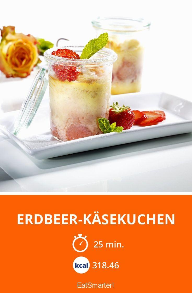 Erdbeer-Käsekuchen im Glas - ganz einfach gemacht!