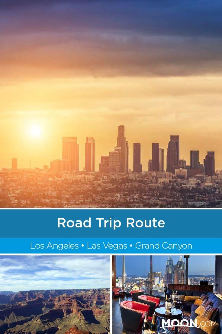 Road Trip Route La To Las Vegas To The Grand Canyon Road Trip Routes Road Trip Route Planner Southwest Travel