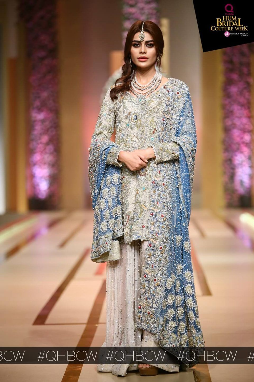 Annus abrar khi u bridal couture week bcw pakistani