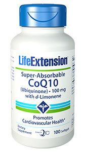 Super-Absorbable CoQ10 Ubiquinone with d-Limonene, 100 mg, 100 softgels:… #Life_Extension #health #heart #hearthealth #LifeExtension_com